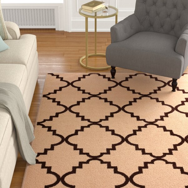 Ozzie Lattice Ivory Area Rug by The Twillery Co.