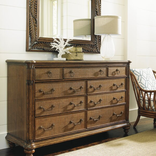 Bali Hai 9 Drawer Dresser By Tommy Bahama Home by Tommy Bahama Home Best Choices
