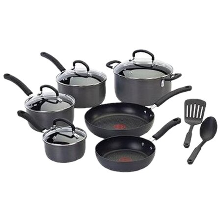 Ultimate 12 Piece Non-Stick Cookware Set by T-fal