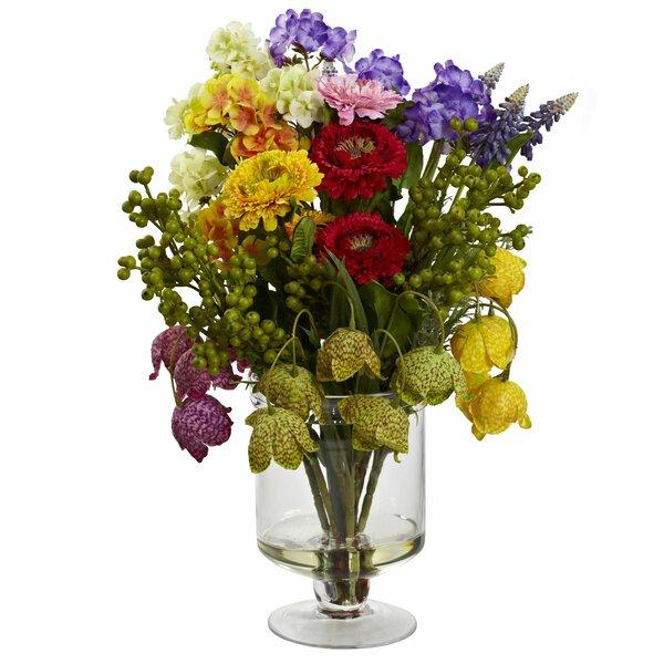 Spring Floral Arrangement by Three Posts