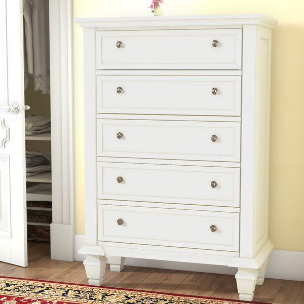 Magness 5 Standard Dresser/Chest by Three Posts
