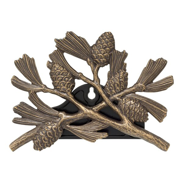 Pinecone Metal Hose Holder by Whitehall Products