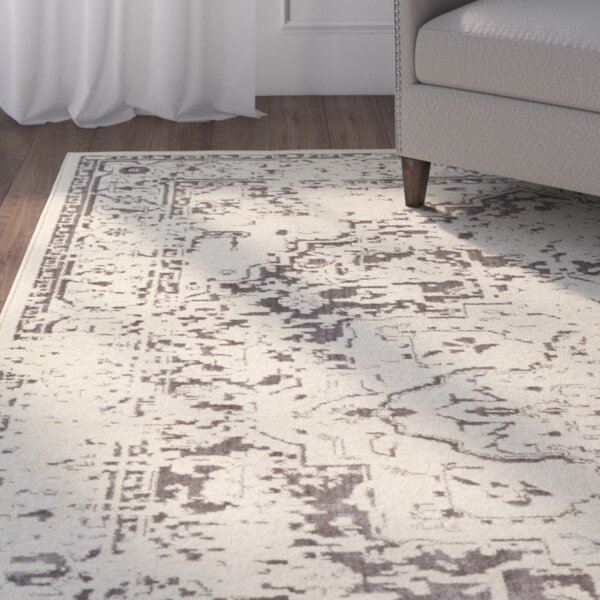 Tierney Brown/Cream Area Rug by Mistana