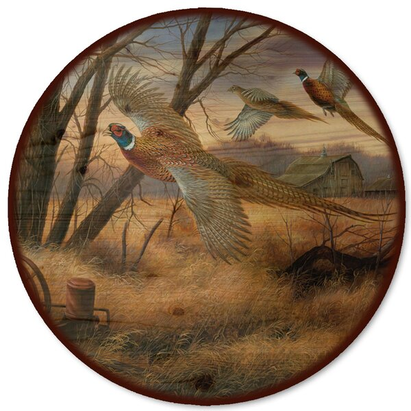 Prairie Wings Lazy Susan by WGI-GALLERY