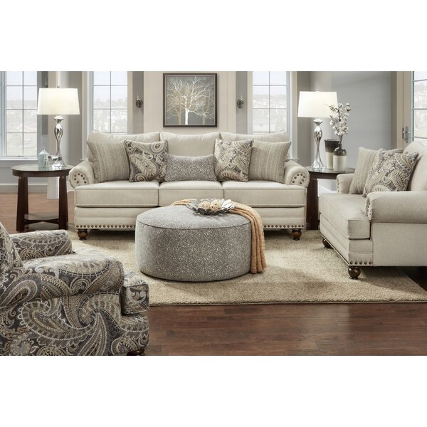 #1 Brockway 4 Piece Living Room Set By Canora Grey Amazing