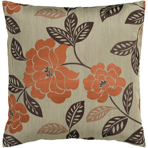 Nassau Throw Pillow Cover by Charlton Home