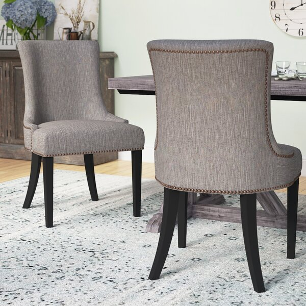 Minisink Upholstered Dining Chair (Set of 2) by Gracie Oaks