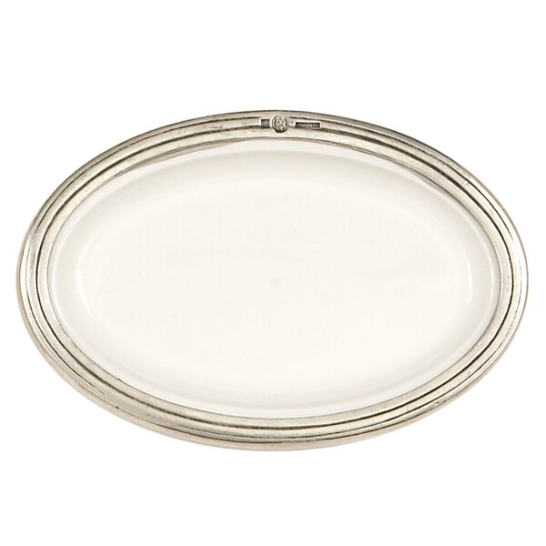 Tuscan Oval Platter by Arte Italica