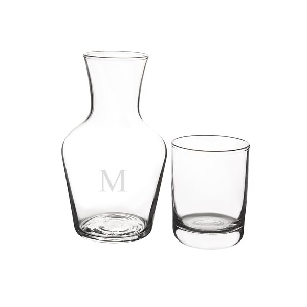 2 Piece Carafe Set by Cathys Concepts