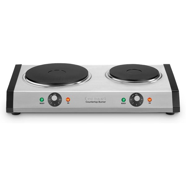 Double Cast-Iron Burner for Countertop Use by Cuisinart
