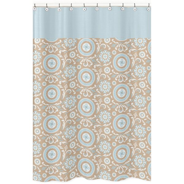 Hayden Cotton Shower Curtain by Sweet Jojo Designs