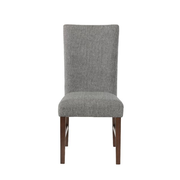 Mahaney Upholstered Dining Chair (Set of 2) by Wrought Studio