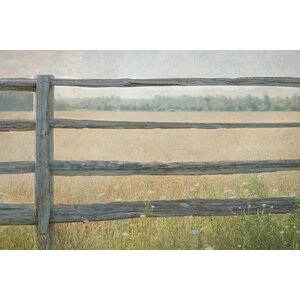 Edge of the Field Graphic Art on Wrapped Canvas by Laurel Foundry Modern Farmhouse