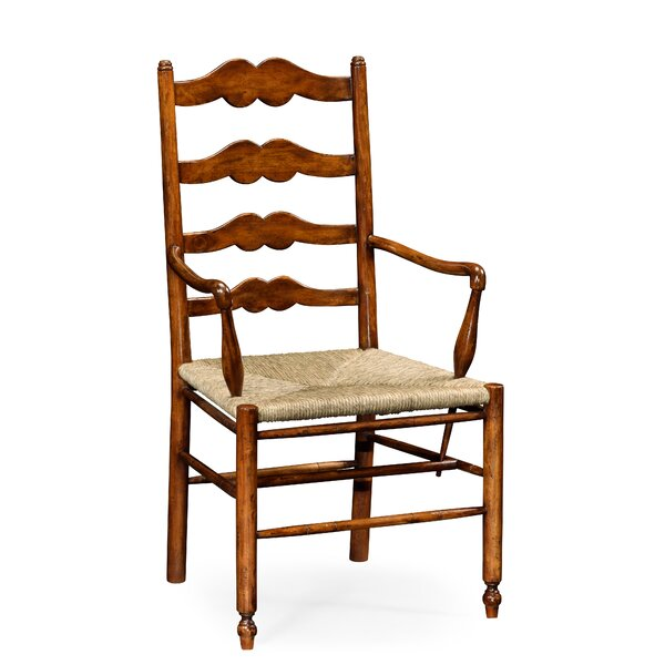 Ladder Back Solid Wood Dining Chair (Set of 2) by Jonathan Charles Fine Furniture