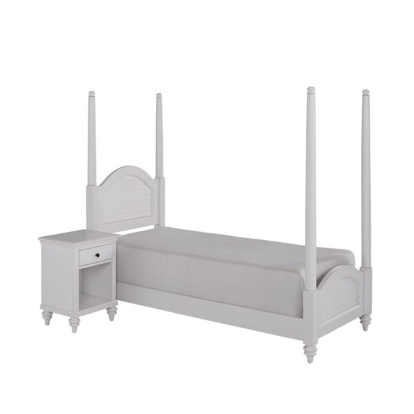 Harrison Four Poster 2 Piece Bedroom Set by Beachcrest Home