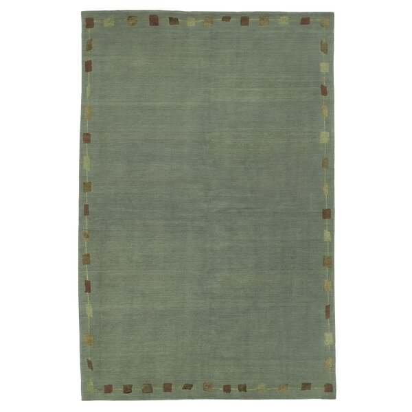 Core Green Rug by Artisan Carpets