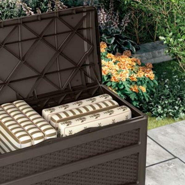 Outdoor 73 Gallon Resin Deck Box by Suncast Suncast