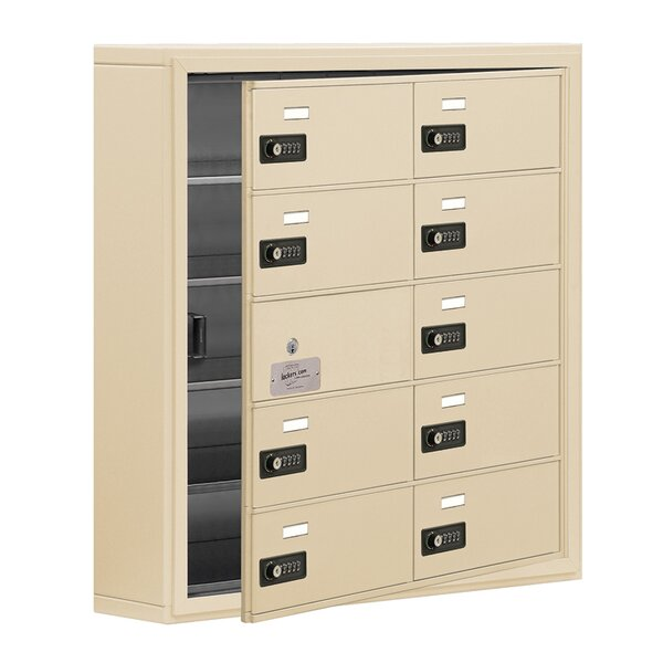 9 Door Cell Phone Locker by Salsbury Industries