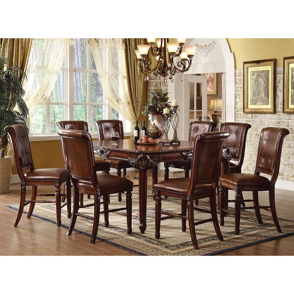 Westerman 9 Piece Counter Height Dining Set by Astoria Grand