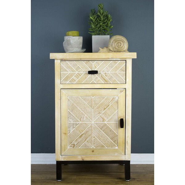 Breeze 1 Door Accent Cabinet by Union Rustic