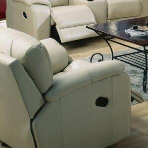 Shields Leather Manual Rocker Recliner by Palliser Furniture