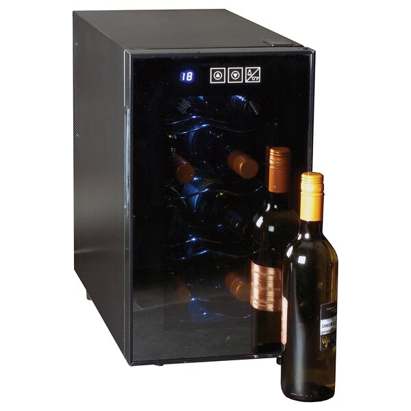 8 Bottle Single Zone Freestanding Wine Refrigerator By Koolatron