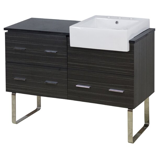 Batson 49 Single Bathroom Vanity Set by Orren Ellis