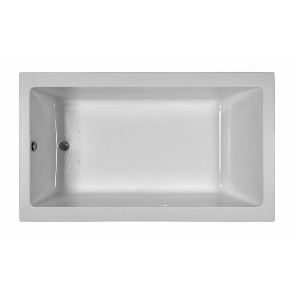 Contemporary  72 x 42 Soaking Bathtub by Reliance