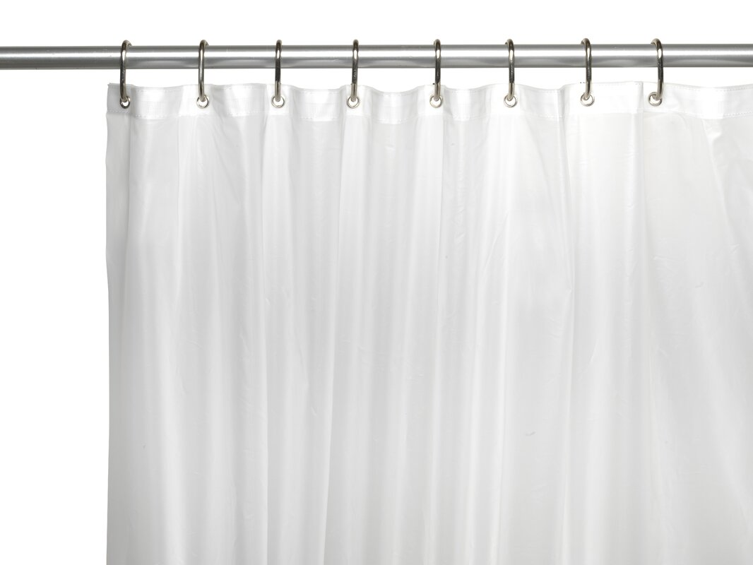 If You Are Looking For A Durable Shower Curtain Liner This Is The Best Choice It Made Of 6 Gauge PEVA Thus Heavy Duty Non Toxic