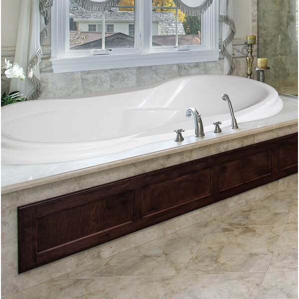 Designer Vanessa 72 x 42 Air Tub by Hydro Systems