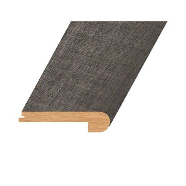 0.94 x 4.41 x 94.49 Oak Flush Stair Nose in Charcoal by Concept One Accessories