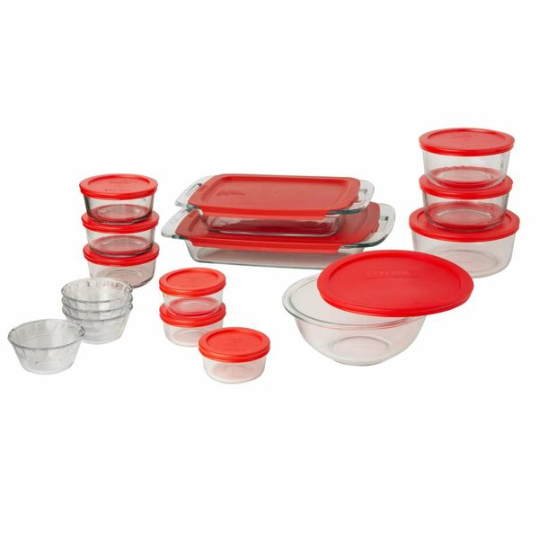 28 Piece Prep Bake & Store Baking Dish Set by Pyrex