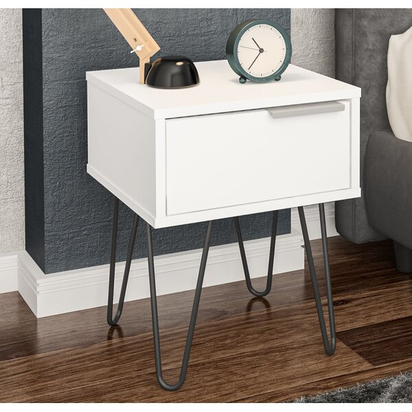 Dasaki End Table With Storage By Ebern Designs