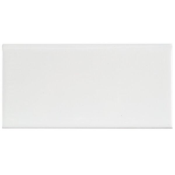 Prospect 6 x 3 Ceramic Bullnose Tile Trim in Gloss