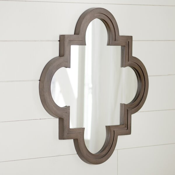 Four Point Accent Mirror by Alcott Hill
