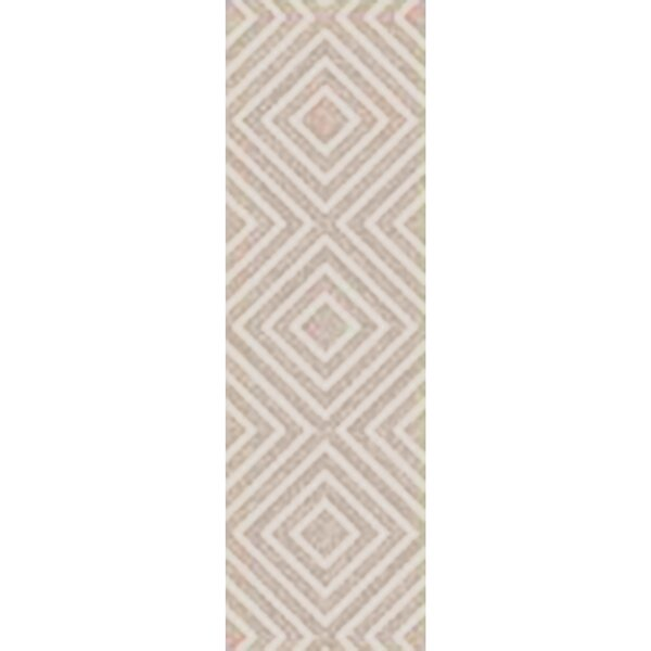 Berkeley Hand-Hooked Khaki/Ivory Area Rug by Langley Street