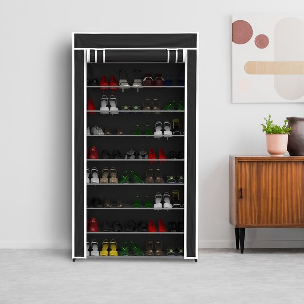 9-Tier 45 Pair Shoe Rack