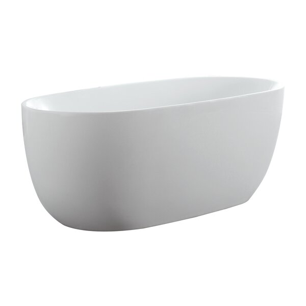 Janus 60 x 30 Freestanding Soaking Bathtub by Eisen Home