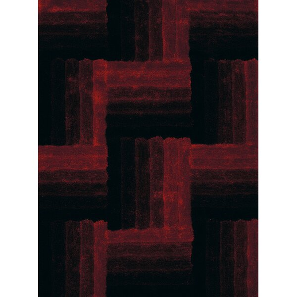 Finesse Hand-Woven Red Area Rug by United Weavers of America