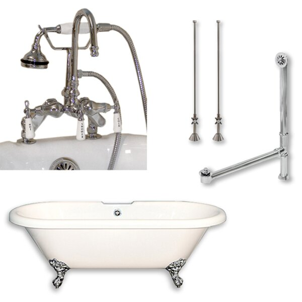 70 x 30 Clawfoot Bathtub by Cambridge Plumbing