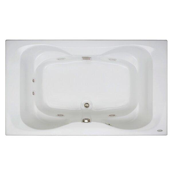 Mito 72 x 42 Drop In Whirlpool Bathtub by Jacuzzi®