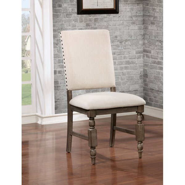 Krupa Rustic Upholstered Dining Chair (Set Of 2) By Ophelia & Co. Ophelia & Co.