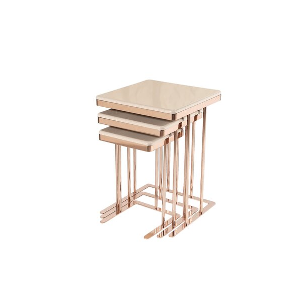 Solorio Frame Nesting Tables By Everly Quinn