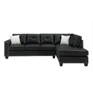 Annemore Reversible Sectional with Ottoman by Latitude Run SKU:EE860748 Shop