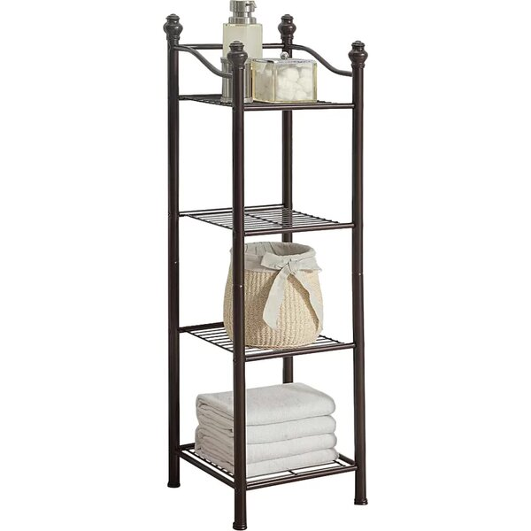 Free Standing Bathroom Shelving You 39 Ll Love Wayfair