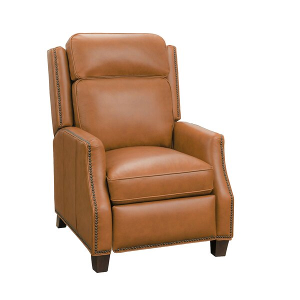 Van Leather Manual Recliner By Canora Grey