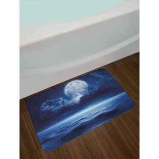 Price comparison Full Moon Moon Bath Rug ByEast Urban Home