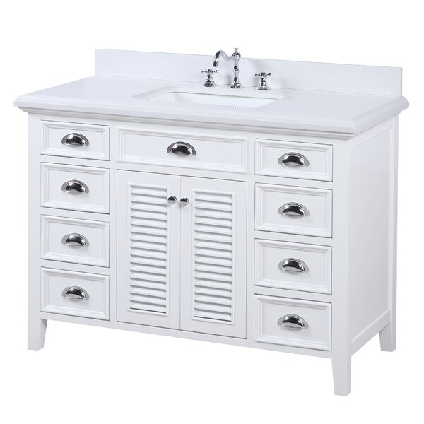 Savannah 48 Single Bathroom Vanity Set by Kitchen Bath Collection