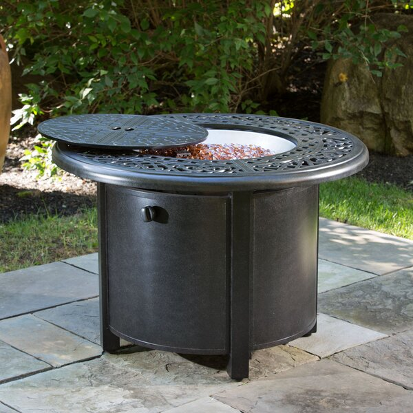 Kinsale Aluminum Propane Fire Pit Table by Alfresco Home