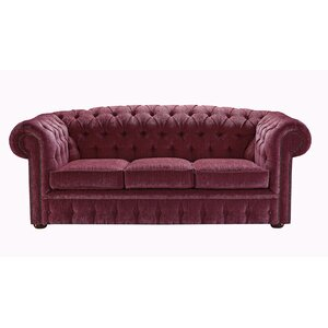 3-tlg. Couchgarnitur Chesterfield von Portabello Interiors
